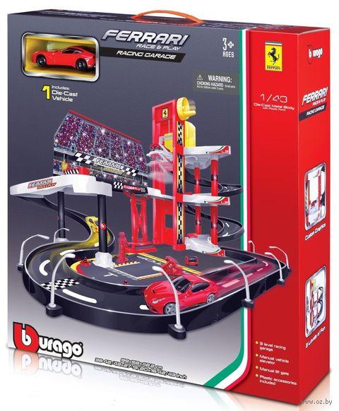 "Паркинг ""Bburago. Ferrari Racing Garage"" — фото, картинка"