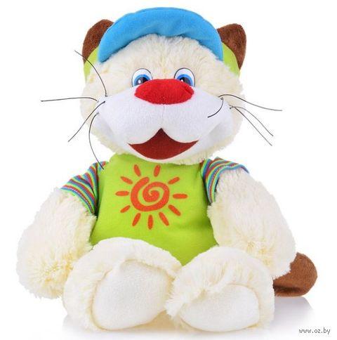"""Мягкая игрушка """"Кот усатый путешественник"""" (25 см) — фото, картинка"""