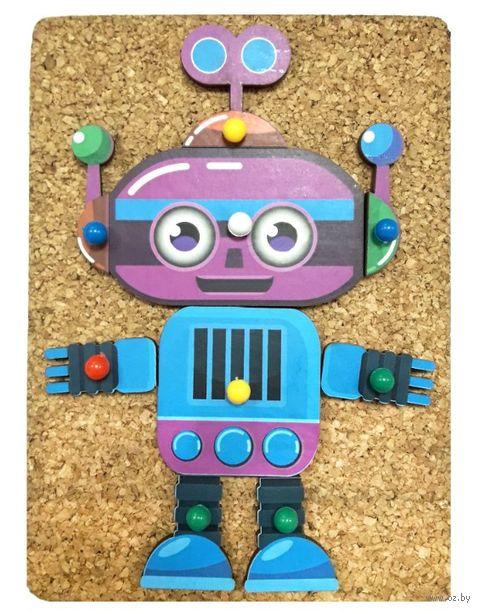 """Развивающая игрушка """"Веселые гвоздики. Роботы"""" — фото, картинка"""