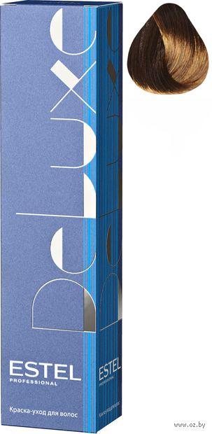 """Краска-уход для волос """"Estel. De Luxe"""" тон: 6/74, темно-русый коричнево-медный — фото, картинка"""