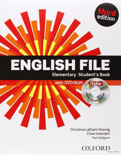 English File. Elementary. Student`s Book (+ DVD) — фото, картинка