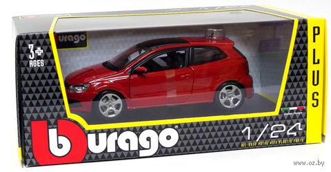 "Модель машины ""Bburago. Volkswagen Polo GTI Mark 5"" (масштаб: 1/24) — фото, картинка"