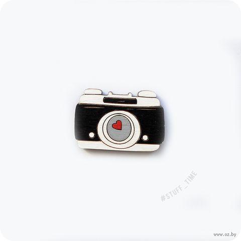 """Значок-пин """"Фотоаппарат"""" (арт. 058) — фото, картинка"""