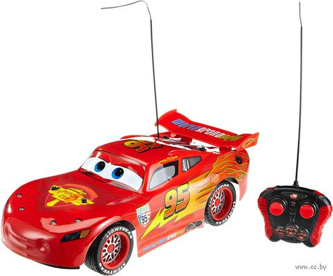 """Автомобиль на радиоуправлении """"Молния МакКуин"""" (масштаб: 1/10) — фото, картинка"""