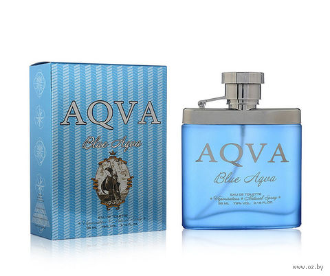"""Туалетная вода для мужчин """"Blue Aqva"""" (95 мл) — фото, картинка"""