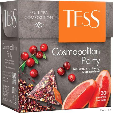"""Чай красный """"Tess. Cosmopolitan Party"""" (20 пакетиков) — фото, картинка"""