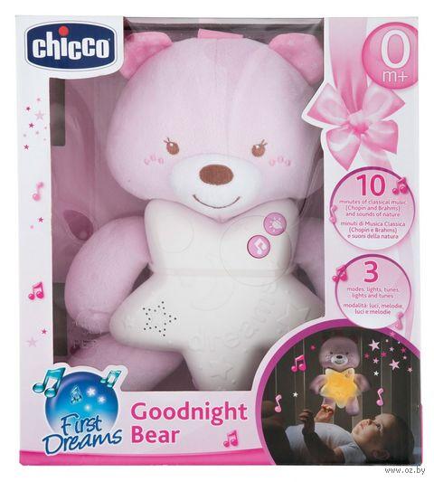 """Ночник детский """"Медвежонок"""" (розовый) — фото, картинка"""
