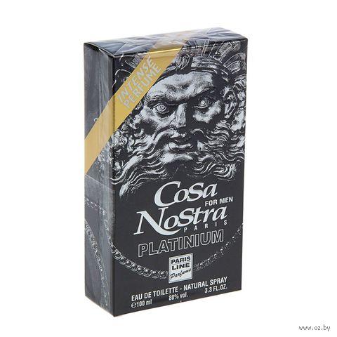 "Туалетная вода для мужчин ""Cosa Nostra Platinium"" (100 мл) — фото, картинка"