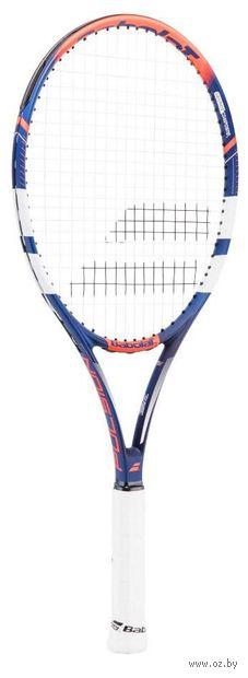 """Ракетка для большого тенниса """"Pulsion 102 Gr3"""" (сине-красная) — фото, картинка"""