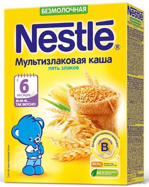 """Детская каша Nestle """"5 злаков"""" (200 г) — фото, картинка"""