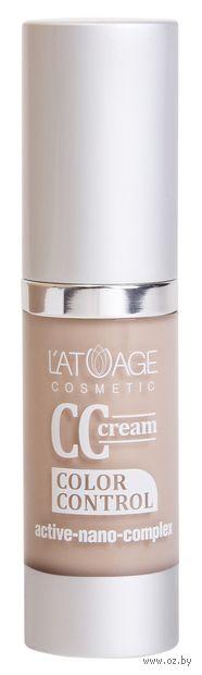 """CC крем для лица """"L'atuage Cosmetics"""" тон: 0, фарфоровый — фото, картинка"""
