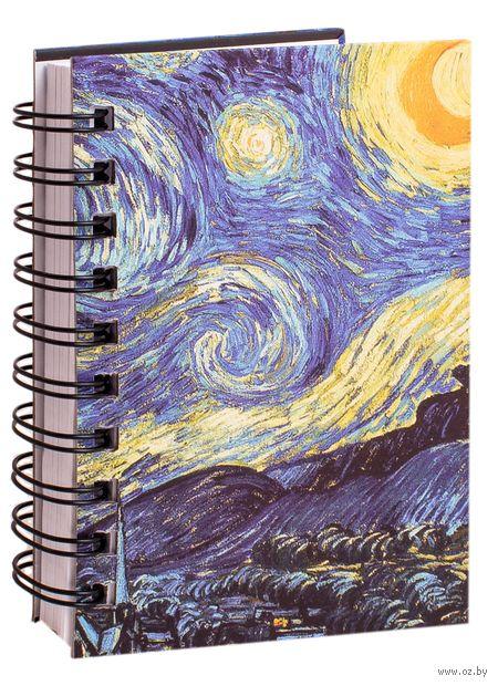 "Скетчбук ""Ван Гог. Звездная ночь"" (А6) — фото, картинка"