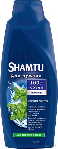 """Шампунь SHAMTU """"Свежесть ментола"""" для мужчин для нормальных волос (700 мл)"""
