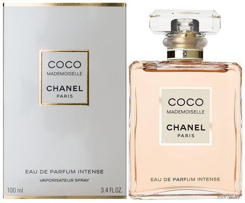 "Парфюмерная вода для женщин ""Coco Mademoiselle Intense"" (100 мл) — фото, картинка"
