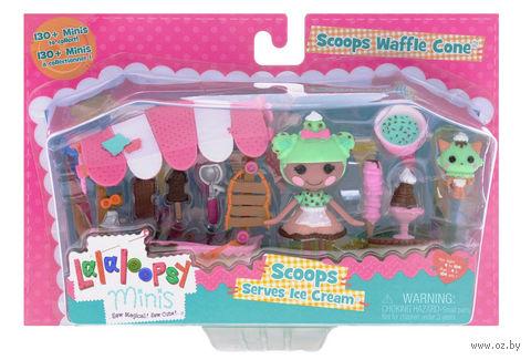 "Кукла ""Lalaloopsy Mini. Магазинчик с мороженым"""