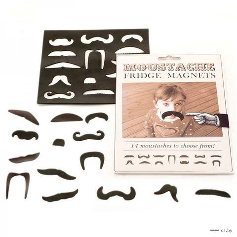 """Набор из 14 магнитов """"Moustache"""""""