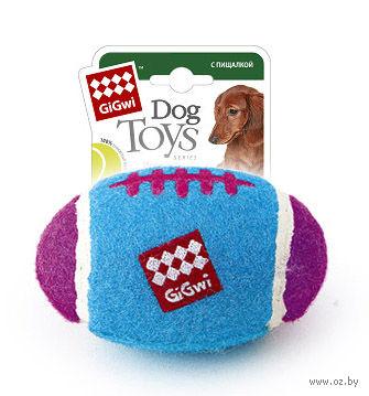 """Игрушка для собак """"Мяч регби"""" (10 см)"""