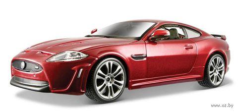 """Модель машины """"Bburago. Jaguar XKR-S"""" (масштаб: 1/24) — фото, картинка"""