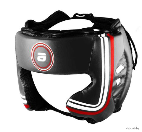 Шлем боксёрский LTB-16320 (XL; чёрный) — фото, картинка