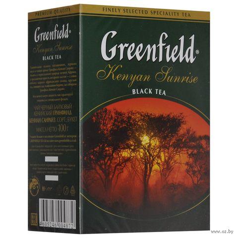 """Чай черный листовой """"Greenfield. Kenyan Sunrise"""" (100 г) — фото, картинка"""