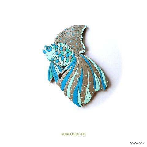 "Значок ""Рыбка"" (арт. 95-3) — фото, картинка"