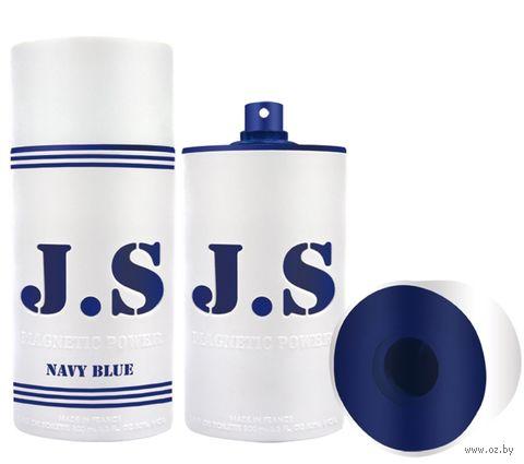 "Туалетная вода для мужчин ""J.S. Magnetic Power Navy Blue"" (100 мл) — фото, картинка"