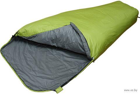 """Спальный мешок двухместный """"Double 310"""" (230 см; зелёный) — фото, картинка"""
