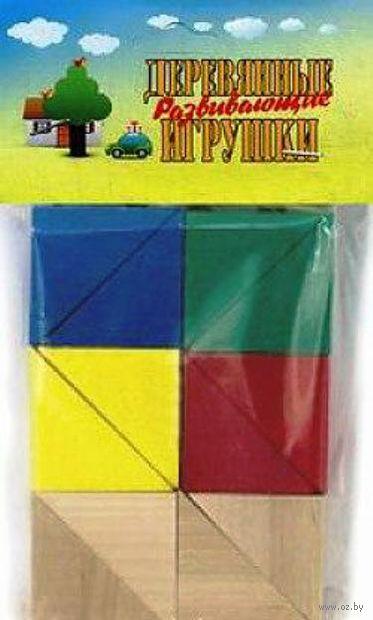 """Деревянная игрушка """"Набор треугольников"""" (12 шт)"""