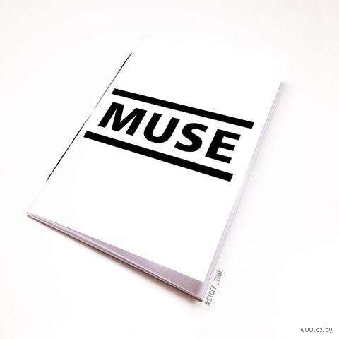 "Блокнот белый ""MUSE"" А6 (091)"