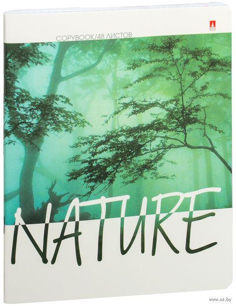 """Тетрадь полуобщая в клетку """"Природа. Настроение"""" (48 листов; в ассортименте) — фото, картинка"""