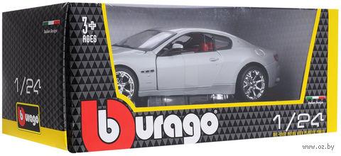 "Модель машины ""Bburago. Maserati Gran Turismo"" (масштаб: 1/24) — фото, картинка"