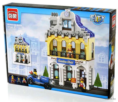 """Конструктор """"City. Отель Саншайн"""" (628 деталей) — фото, картинка"""