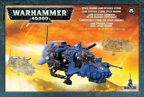 Warhammer 40.000. Space Marines. Land Speeder Storm (48-35) — фото, картинка