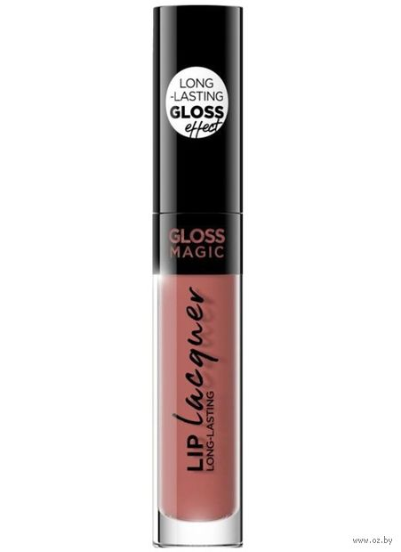 "Жидкая помада для губ ""Gloss Magic Lip Lacquer"" тон: 15, vinitage rose — фото, картинка"