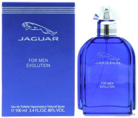"""Туалетная вода для мужчин """"Jaguar For Men Evolution"""" (100 мл) — фото, картинка"""