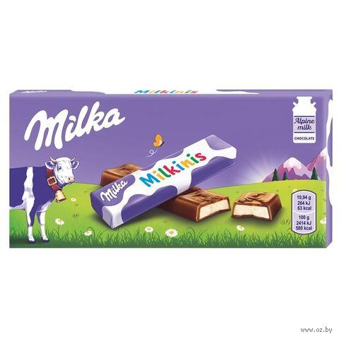 "Шоколад молочный ""Milka. Milkinis"" (87,5 г) — фото, картинка"