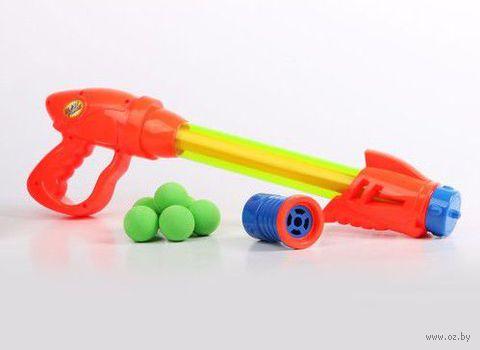 Водяной пистолет-бластер (с шарами)