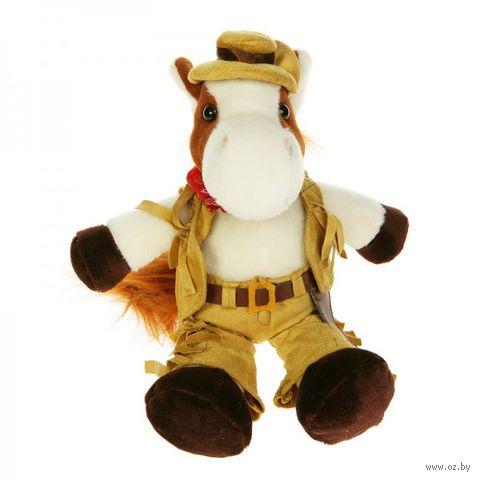 """Мягкая игрушка """"Конь-ковбой"""" (20 см)"""