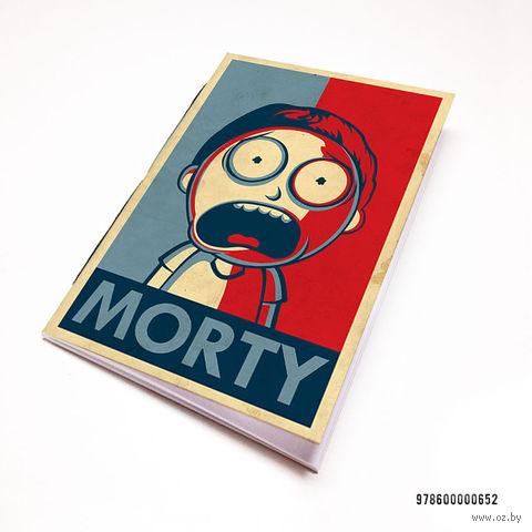 "Блокнот ""Рик и Морти"" (А7; арт. 652) — фото, картинка"