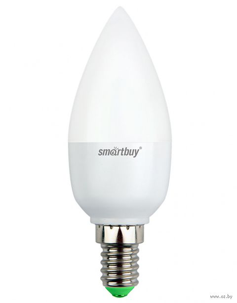 Лампа светодиодная LED C37 07W/3000/E14