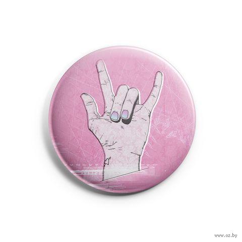 "Значок маленький ""Rock"" (арт. 271) — фото, картинка"