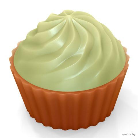 """Форма для изготовления мыла """"Кейк верхушка. Крем"""" — фото, картинка"""