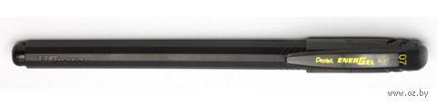"""Ручка гелевая черная """"EnerGel"""" (0,7 мм)"""