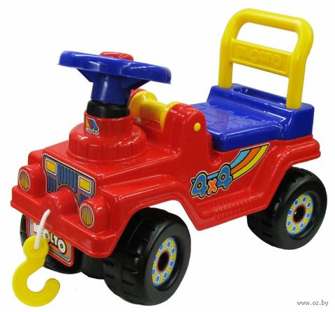 "Автомобиль-каталка ""Джип 4х4"" — фото, картинка"