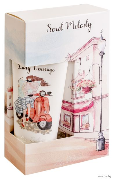 """Подарочный набор """"Lady Courage"""" (гель для душа, крем) — фото, картинка"""