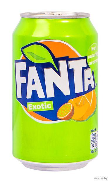 """Напиток газированный """"Fanta. Экзотик"""" (330 мл) — фото, картинка"""