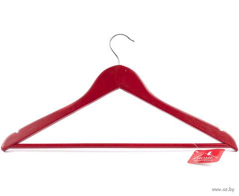 Вешалка для одежды деревянная (445 мм; арт. JL13014) — фото, картинка