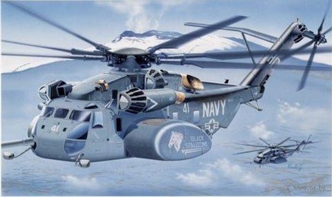 """Вертолет """"MH-53E Sea Dragon"""" (масштаб: 1/48) — фото, картинка"""