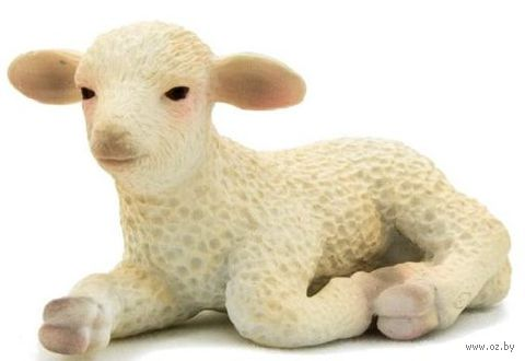 """Фигурка """"Animal Planet: Овечка лежит"""" (3 см)"""