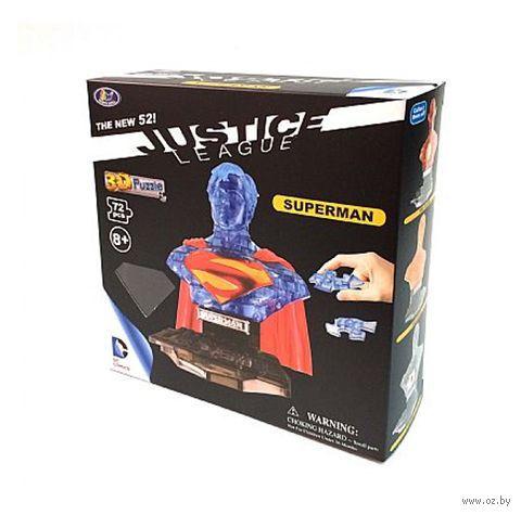 """Пазл """"3D Puzzle. Супермен полупрозрачный"""" (72 элемент)"""